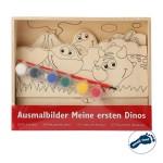 """Puidust värvimispilt """"My First Dinosaurs"""""""