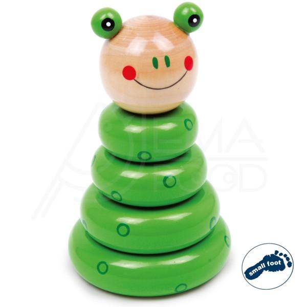 """Puidust kujundimäng """"Pin Frog"""""""