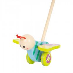 "Puidust lükatav mänguasi ""Butterfly"""