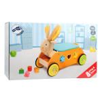 """Puidust ratastel motoorika arendav mänguasi """"Walker Rabbit"""""""