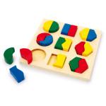 """Puidust pusle-mänguasi """"Shapes Pair"""""""
